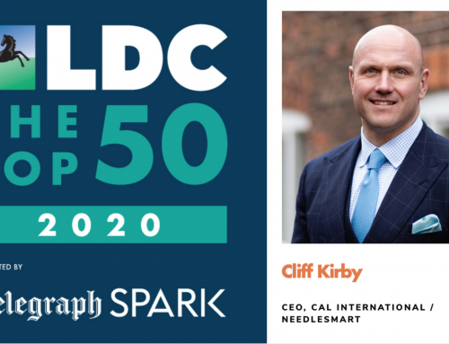 CEO of CAL International, Cliff Kirby, announced as one of LDC's Top 50 Most Ambitious Business Leaders 2020